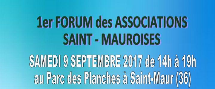 1er Forum des Associations, nous y serons